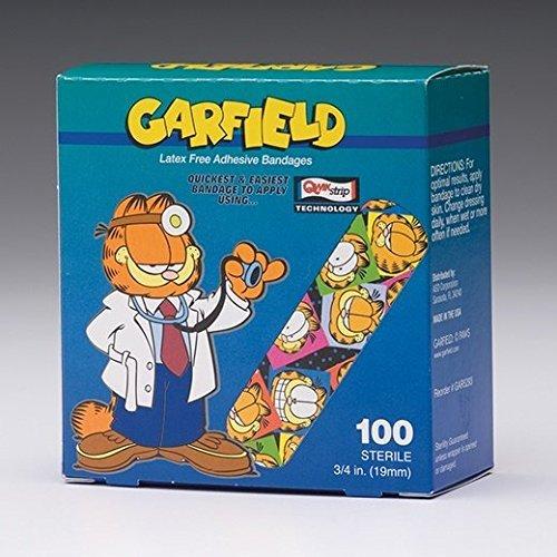Aso LLC Garfield Bandages - 3/4 x 3 - Model 62355 - Box of 100 by Aso LLC