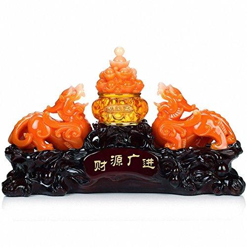 Wenmily Large Size Feng Shui Pi Yao/Pi Xiu and Treasure...