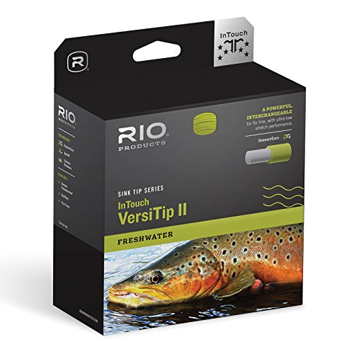 RIO Fly Fishing Fly Line InTouch Varsity Wf8F Fishing Line, Straw-Light-Green