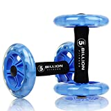 5BILLION Ab wheel Roller & Rueda Abdominal - Double Ab wheel - Entrenamiento...