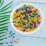 Perlas de agua gel coloridas para niño no tóxicas,3500ST Gel aqua decoración Orbeez crystal mud clear jelly bolas de gel de agua para manualidades relleno jarrones plantas,flores decoración del hogar