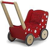 Unbekannt Simply for Kids 1171 Holzpuppenwagen, Red