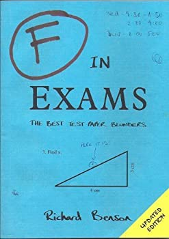 F In Exams The Best Test Paper Blunders 1849531005 Book Cover