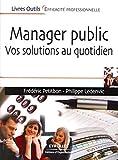 Manager public - Vos solutions au quotidien.