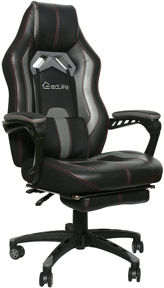 Gaming Racing Chair with Massage Max 68% OFF Offic Ergonomic Lumbar Support 40% OFF Cheap Sale