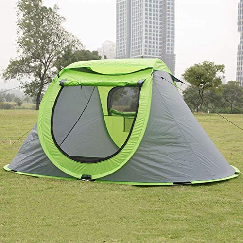 WY-YAN 2 People Automatic Speed Open Tent Camping Wild Camping Tent Waterproof And Sweatproof Roof