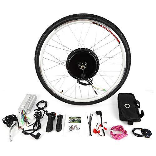 Kit de conversión eléctrica para bicicleta eléctrica de 28 pulgadas, 36 V, kit de conversión para rueda delantera y delantera de 250 W