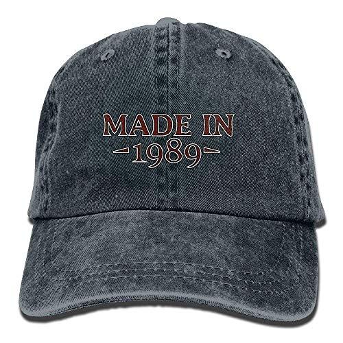 Denim-Baseball-Cap aus dem Jahr 1989 Adult Vintage Washed Outdoor Ort Hat Multicolor7