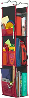 LockerWorks 3 Shelf Adjustable Hanging Organizer, Sturdy & Compact, 20-38