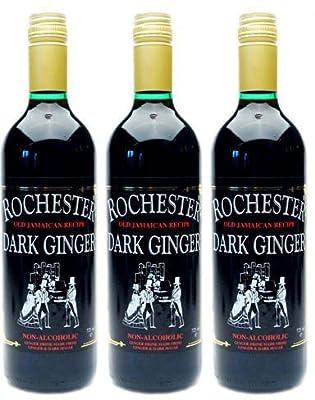 Rochester Rochester Dark Ginger Drink Non Alcholic 725ml (Pack of 3)