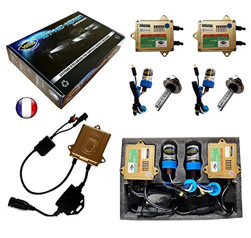 HID Xenon-Kit, französische Marke Vega® H7, 6000 K, 55 W, Canbus Fehlerfrei, ODB, ASIC Lampen mit Metallsockel