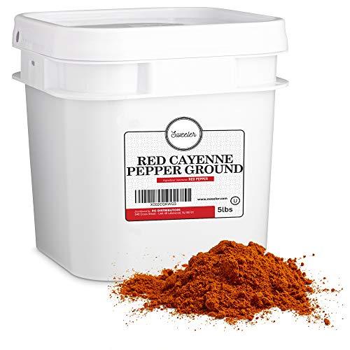 Sweeler, Bulk Red Ground Cayenne Pepper - 40,000...