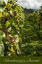 Viticulturist's Journal: Compact and Convenient Lined Blank Notebook for Grape Growers