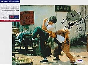 Jackie Chan Signed Autograph 8x10 Photo PSA/DNA COA #2
