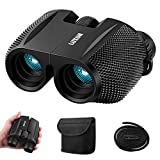 10 x 25 Mini Binocular Magnification, Sgodde Compact Binoculars, Night Vision in Low Light, Waterproof