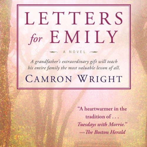 Letters for Emily audiobook cover art