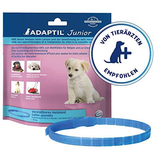 ADAPTIL - Collare regolabile per cuccioli, ha dimostrato di aiutare a ridurre il pianto notturno, lasciato a casa da solo, allenamento e socializzazione.
