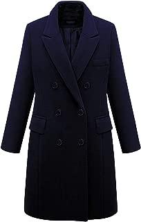 Best womens navy blue wool jacket Reviews