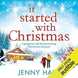 It Started with Christmas audiobook cover art