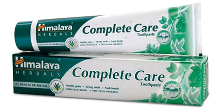 二度四分円報復ヒマラヤ トゥースペイスト COMケア(歯磨き粉)80g Himalaya Complete Care Toothpaste