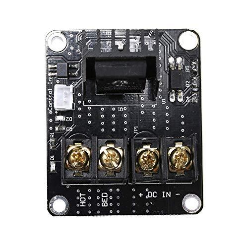3D-Drucker Hochleistungs-Motherboard-Hot-Bed-Modul Wifi-Funktion erweiterbar für Druckerzubehör,3D Printer High Power Motherboard Hot Bed Module Wifi Function Extensible For Printer Accessories