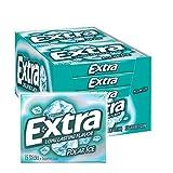 EXTRA Polar Ice Sugarfree Gum, 15 Sticks (Pack of 10) from Extra
