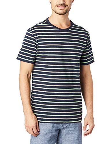 Camiseta T-Shirt Fio Tinto, Reserva, Masculino, Marinho, GG