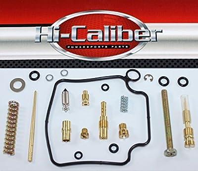 Hi-Caliber Powersports Parts Carburetor Carb Rebuild Kit for the 2000-2003 Honda TRX 350 Rancher