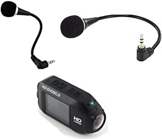 Bubbles Designs Flex Microphone Compatible with Drift Ghost HD Action Camera
