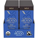 Includes twenty 1.2 oz Green & Blacks Organic Milk Chocolate Bars Green & Blacks Organic is USDA Organic, Fair Trade, and UN Certified Ethically Sourced chocolate Enjoy the luscious taste and texture of these organic milk chocolate bars Green & Black...
