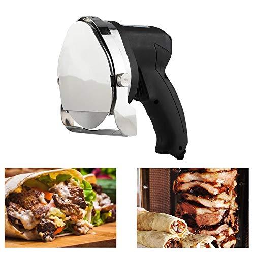 Cuchillo Kebab Eléctrico, 80W 220V Cortador Eléctrico de Kebab Cuchillo eléctrico para...