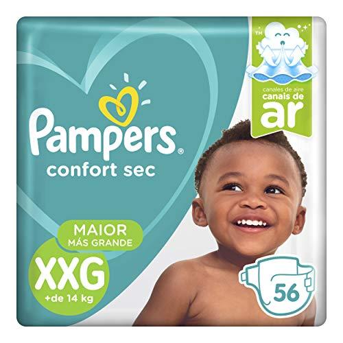 Fraldas Pampers Confort Sec XXG 56 Unidades, Pampers