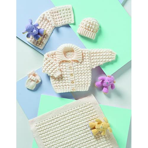 97aa05c0f Baby Set Knitting Patterns  Amazon.co.uk