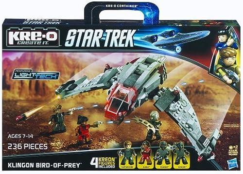 Kre-O Star Trek Klingon Bird-of-Prey Construction Set by KRE-O