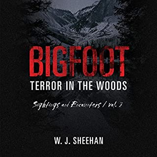 Bigfoot Terror in the Woods audiobook cover art