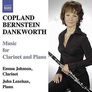 Copland & Bernstein: Clarinet Sonatas - Dankworth: Suite for Emma & Picture of Jeannie
