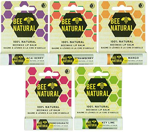 Bee Natural FruitEdition Kombi-Pack 5 x 2 Stück