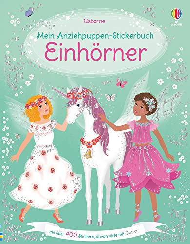 Mein Anziehpuppen-Stickerbuch: Einhörner