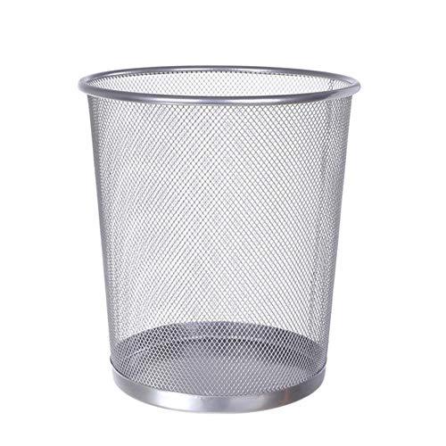 2019 Grande de Malla de Metal cesto de Basura Cubo de Basura para Oficina hogar 26cm x 23cm Cesta de residuos de Oficina para Papel,2,China