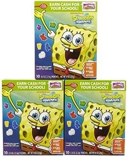 Spongebob Squarepants Fruit Flavored Snacks 8 oz (Pack of 10) by Fruit Snacks