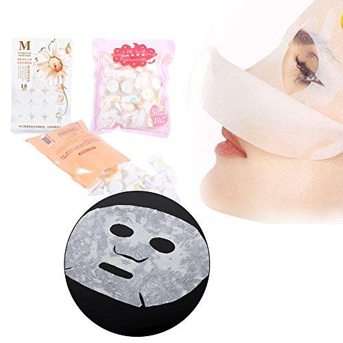 Maschera per il viso in morbido tessuto compresso, strumento di bellezza, per la cura del viso, per donne, 60/30/15 pezzi