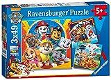 Ravensburger Paw Patrol Rompecabezas 3 x 49 Piezas, 5+ Años, multicolor (05048)