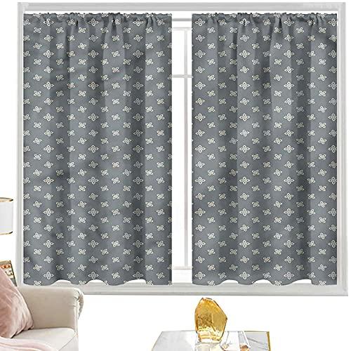 Cortinas para dormitorio árabe, diseño vintage turco de estrella de 100 x 200 cm de largo y 200 cm de ancho y 200 cm