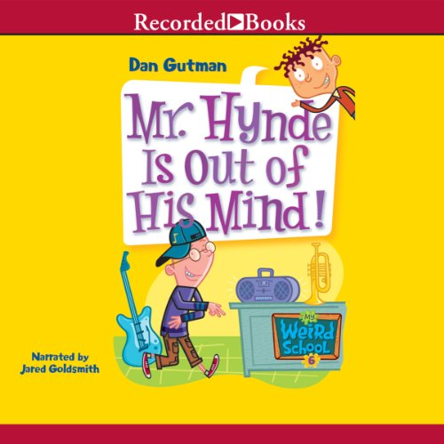 Mr. Hynde Is Out of His Mind! audiobook cover art