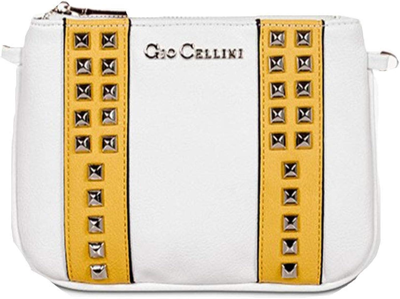 Gio Cellini , Damen Clutch Weiß Bianco LxWxH (Cm) (Cm) (Cm)  20.0 x 2.0 x 15.0 B07P7X6W1D  Rabatt 922c13