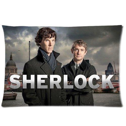 not Sherlock Holmes Benedict Cumberbatch Martin Freeman Signature Custom Design Pillowcase Pillow Sham Queen Pillow Cushion Case Cover Printed Kissenbezüge (50cmx75cm)
