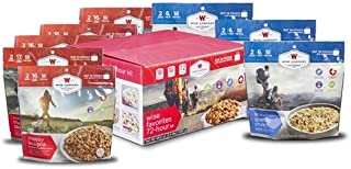 Wise Foods Company Camping Favorites Cook-in-Pouch Freeze Dried Food Kit - Great for Backpacking and Hiking