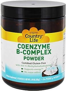 Coenzyme B-Complex Coconut Country Life 1.95 oz z (55g) Powder