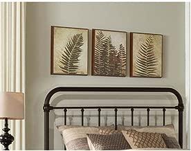 Hillsdale Furniture Kirkland Headboard - King - Headboard Frame Not Included - Bronze