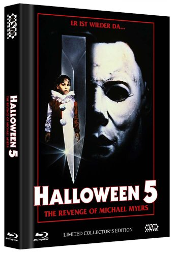 HALLOWEEN 5 (DVD+Blu-Ray+CD Soundtrack) Uncut auf 1000 Stück limitiertes Mediabook